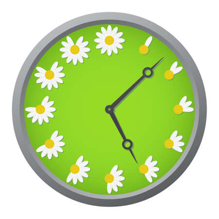 Daisy clock Stock fotó - 14185253