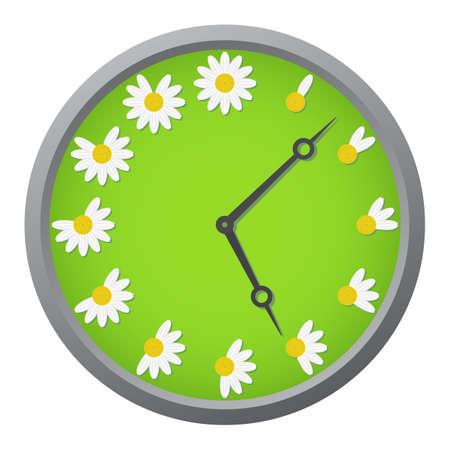 kamille: Daisy Uhr