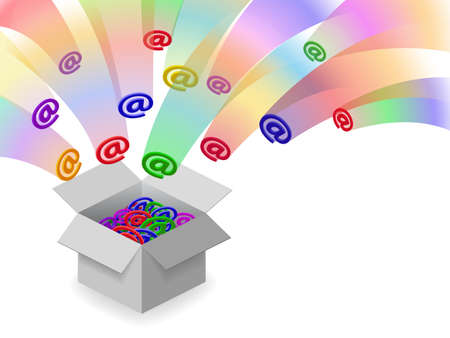 Email inbox Vector