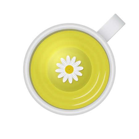 Healthy tea Illustration