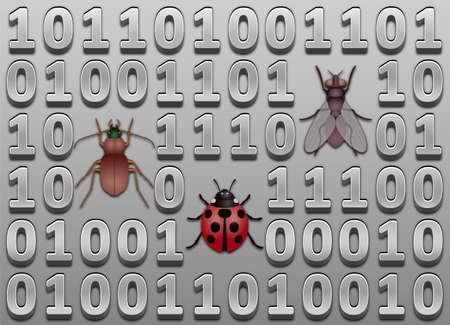 Software bugs Stock Vector - 16303128