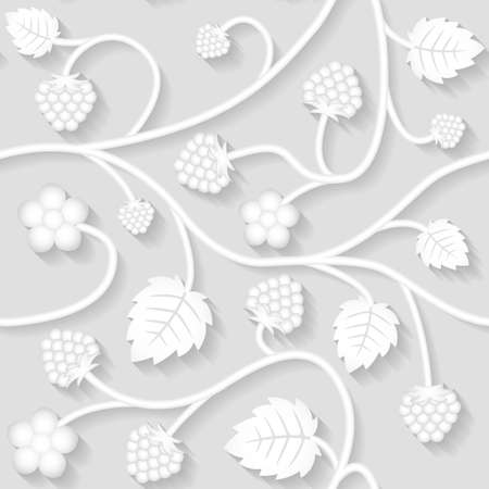 Vector seamless floral pattern background for web, invitation card, wallpaper and fabric