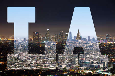 Los Angeles - Day and Night of LA