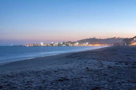 Santa Barbara Pier at Dusk - long exposure