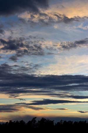 troposphere: Summer night clouds in Finland