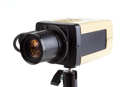 Alte Sicherheits-und Überwachungseinrichtungen CCTV-Kamera Standard-Bild - 14792200