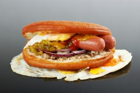 Berühmte Kiosk Essen in Finnland, Finnische Fleischpastete Standard-Bild - 18004667