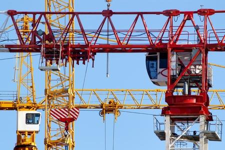 crane parts: Foques gr�a y caba�as primer