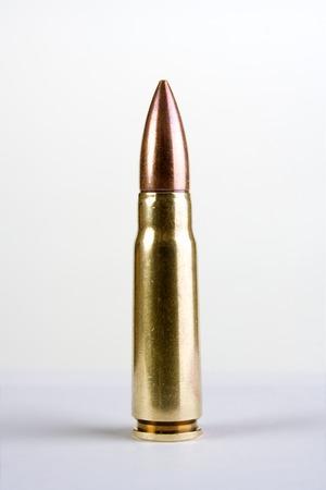 Military automatic rifle cartridge