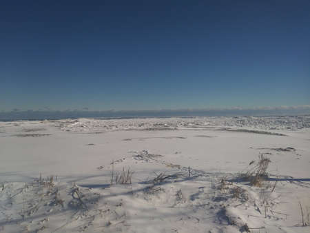 Frozen Lake Huron