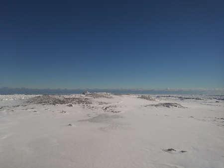 Frozen Lake Huron Stock Photo - 96288503