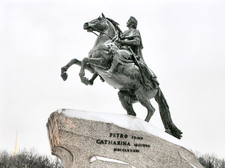 Monument of Peter the Great - St. Petersburg , Russia