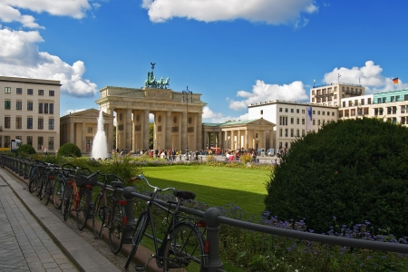 brandenburg: Brandenburg Gate in Berlin, Germany