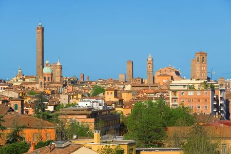 italy culture: View of Bologna. Emilia-Romagna, Italy