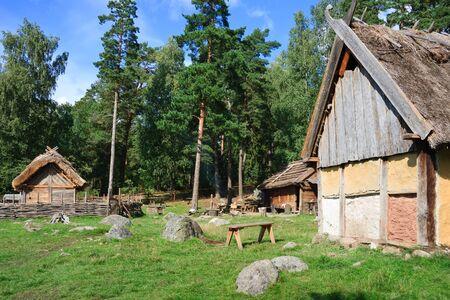 Vikings village near Stockholm, Sweden