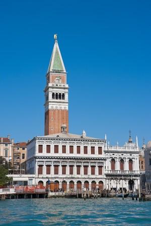 Campanile on  Piazza San Marco. Venice, Italy Stock Photo - 4184661