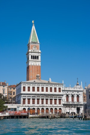 marco: Campanile on  Piazza San Marco. Venice, Italy