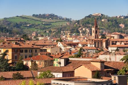 View of Bologna. Emilia-Romagna, Italy