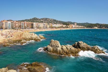 Costa Brava landscape near Lloret de Mar. Catalonia, Spain photo