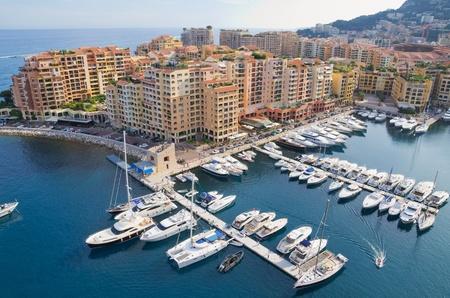 The Port de Fontveille at Monaco