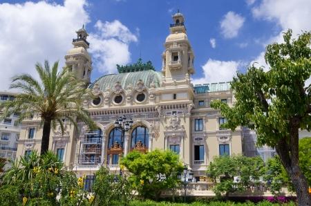 Oper de Monte-Carlo-Salle Garnier. Monaco Standard-Bild - 9896516