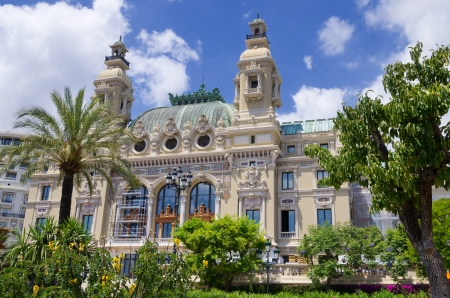 garnier: Opera de Monte Carlo-Salle Garnier. Monaco