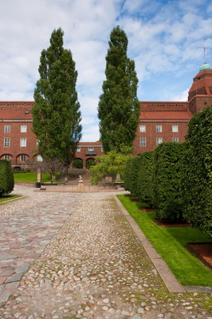 education in sweden: Technical University of Stockholm, Sweden Stock Photo