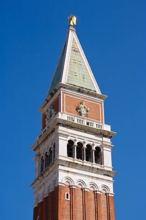 The Campanile in Piazza San Marco in Venice, Italy photo
