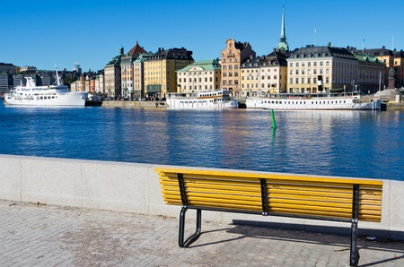 View of Gamla Stan. Stockholm, Sweden photo