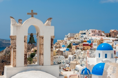 ia: Oia  Ia  village on Santorini island  Greece, Europe