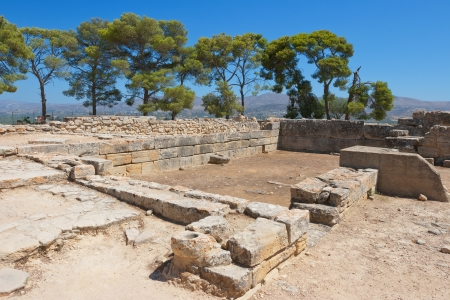 Archaeological site of Phaistos  Crete, Greece