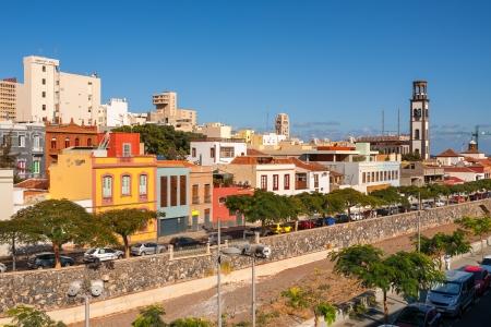 サンタ ・ クルス ・ デ ・ テネリフェ カナリア諸島、スペインの町並み