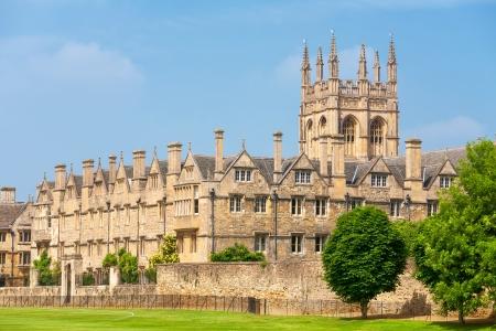Merton College der Oxford University, Oxford, Oxfordshire, England Standard-Bild - 21969511