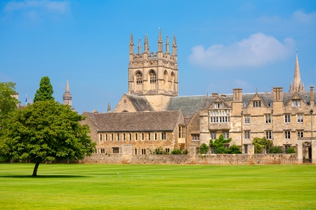college building: Merton College  Oxford University, Oxford, Oxfordshire, England Editorial