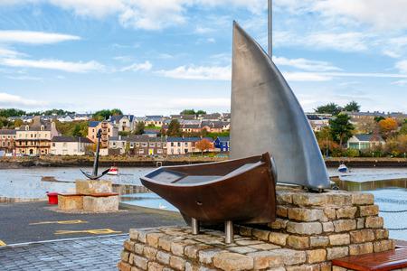 Nautical Sculpture in Kinsale Harbour  County Cork, Republic of Ireland