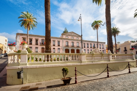 Town Hall in the center of La Orotava  Tenerife, Canary Islands, Spain photo