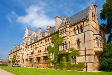 Meadow Building at Christ Church College. Oxford University, Oxford, England