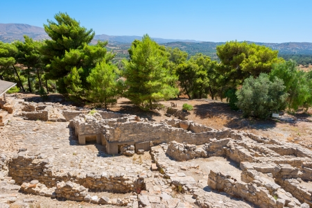 ���archeological site���: Archeological site of Phaistos. Crete, Greece Stock Photo