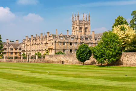 Merton College. Oxford University, Oxford, Oxfordshire, England Editorial