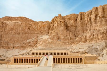 Templo funerario de la reina Hatshepsut. Cisjordania, Luxor, Valle del Nilo, Egipto