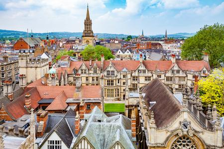 옥스포드의 풍경입니다. 옥스 퍼 드셔, 영국, 영국 스톡 콘텐츠