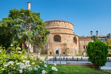 rotunda: The Rotunda of Galerius (now the Greek Orthodox Church of Agios Georgios), Thessaloniki. Macedonia, Greece