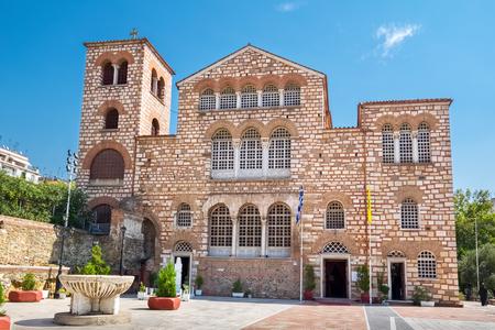 The Church of Saint Demetrius (Hagios Demetrio) the patron Saint of Thessaloniki. Macedonia, Greece