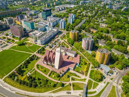 lublin: Poland - lublin birds eye view