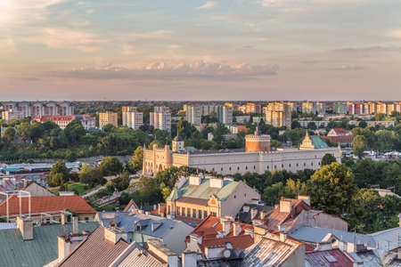 Lublin from a bird's eye view.
