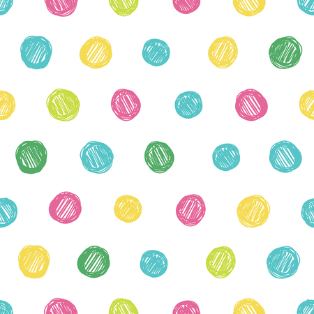 A simple background in polka dots. Grunge texture objects. Print card, cloth, clothing, summer sundress, dress, wrap, wrapper, web, cover, label, banner, emblem.