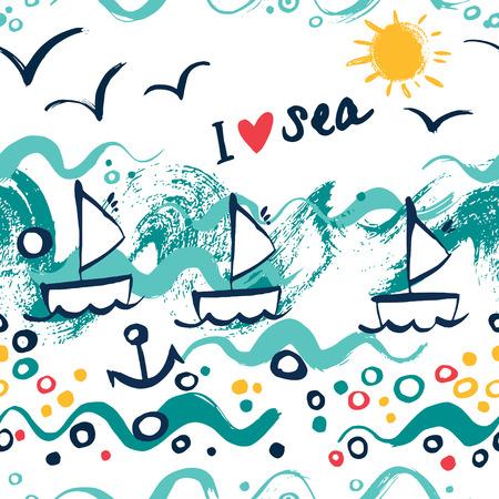 I love sea concept design