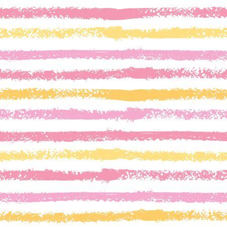Seamless pattern with horizontal stripes. 向量圖像