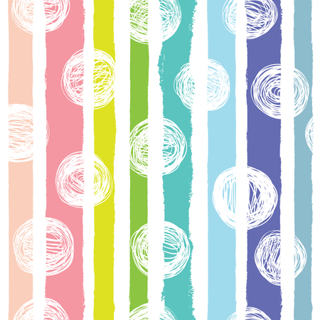 Seamless background with rainbow colors. Summer style.