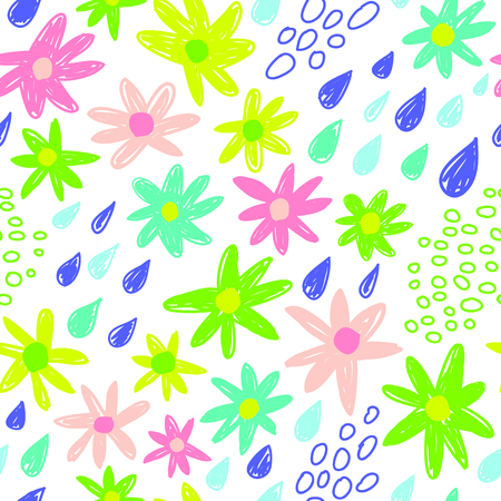 Seamless pastel colors